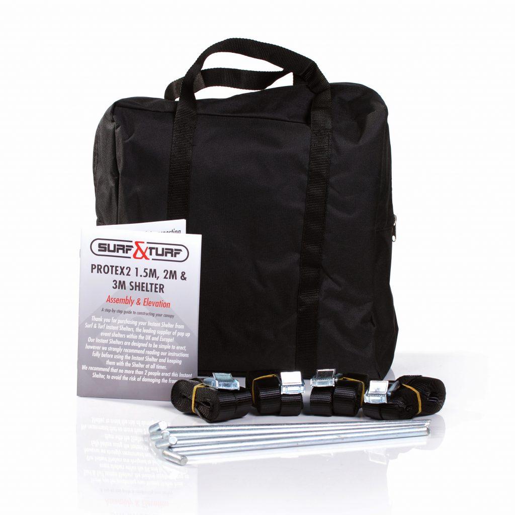 Heavy Duty Gazebo Shelter Anchor Kit