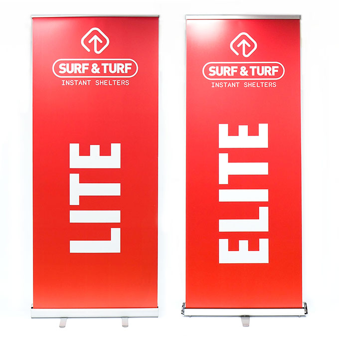Printed Roller Banners With Stand