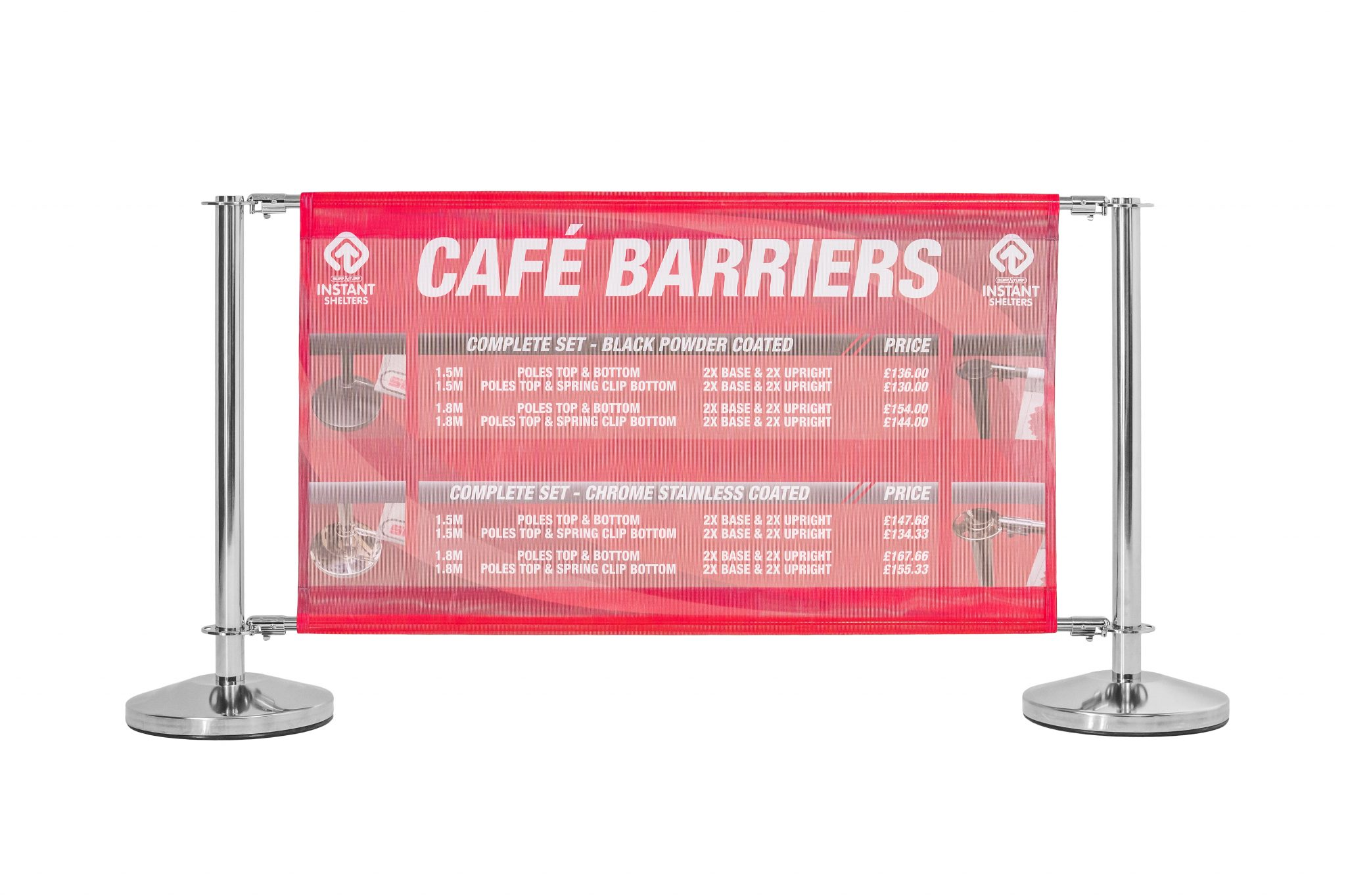 Branded Cafe Barriers