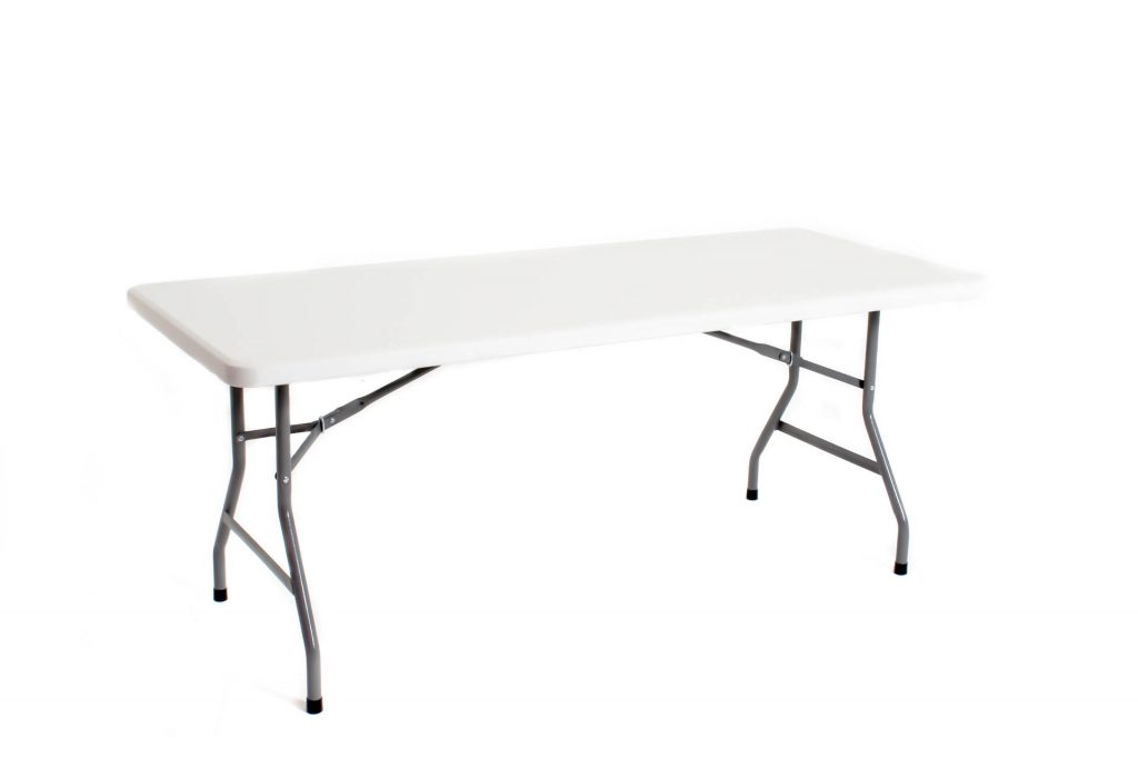 6Ft Straight Exhibition Table
