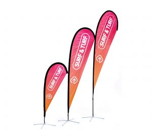Custom Branded Teardrop Banners