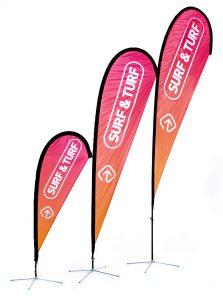 Custom Branded Teardrop Banners