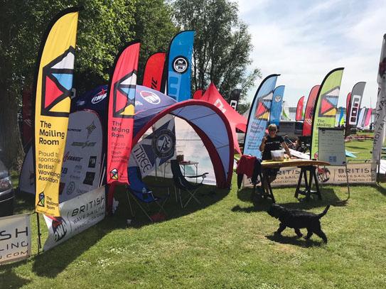 Flags and custom branding for festivals
