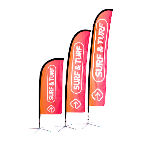 Custom Promotional Advertising Flags & Banners