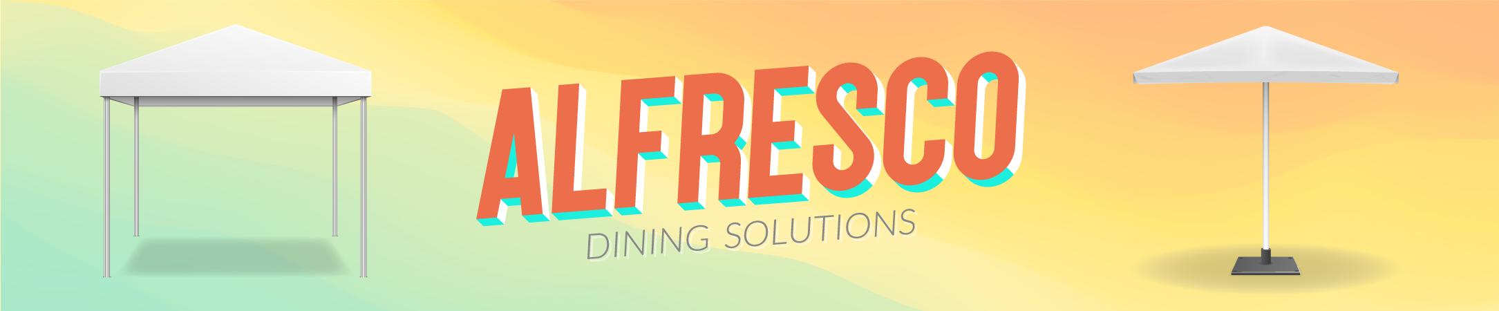 Alfresco-Banner